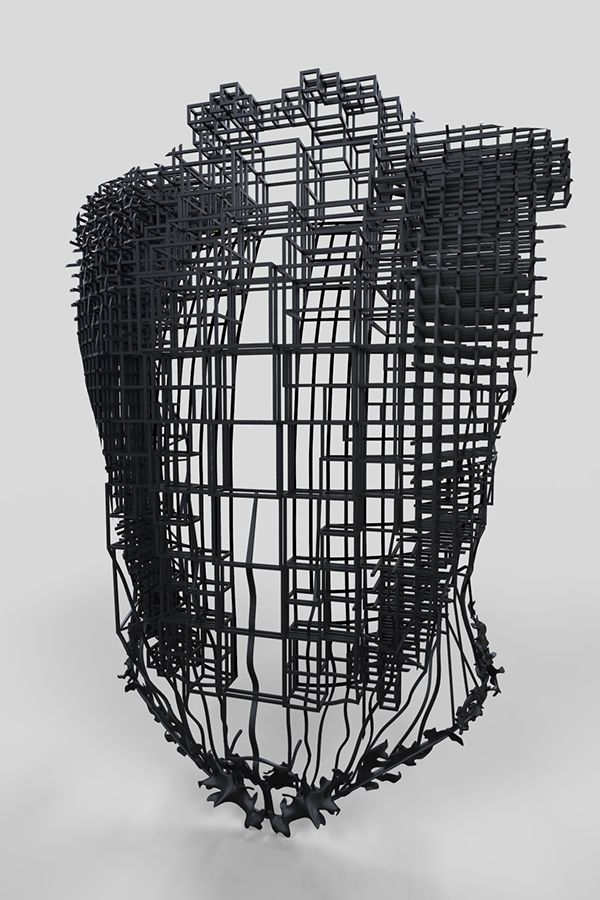 Tomasz Dabert: 3d model of a costume on Behance