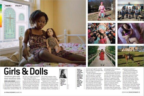 "Ilona Szwarc's Photo Essay ""Girls & Dolls: American Girls"