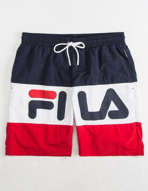 b12a104be813 FILA Rob Mens Swim Trunks
