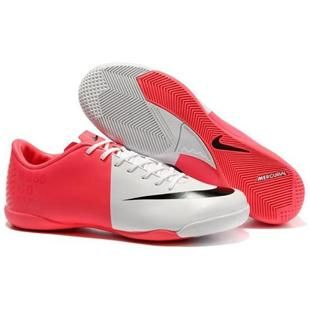 http://www.asneakers4u.com The Newest Nike Mercurial Victory III IC Indoor Football Trainers Soccer Cleats White Red Gallery