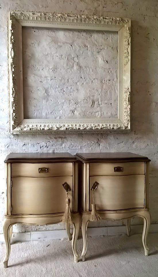 mesas de luz francesas patinadas restauracin