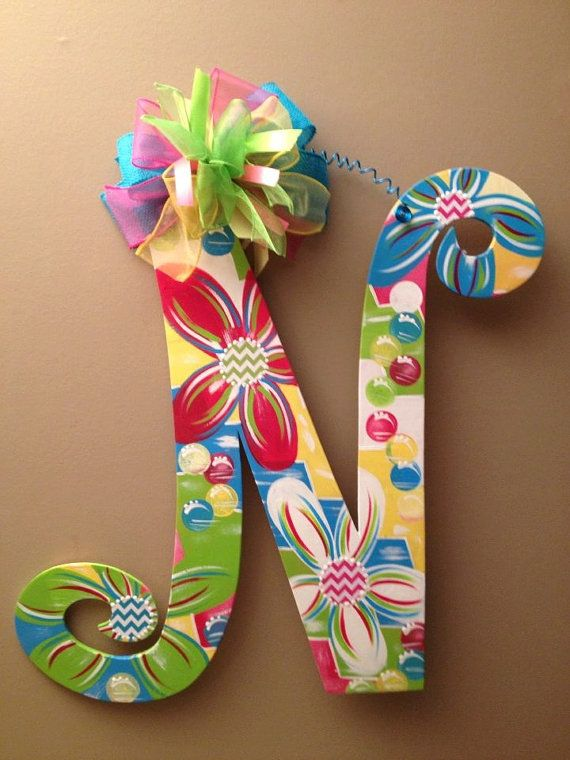 Easter or Spring Colored Door Hangers by PaintingonaPrayer on Etsy