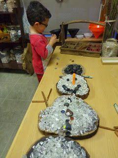 Beautiful Winter Provocation ideas from Extraordinary Classroom! #ECE #reggioinspired  https://reggiokids.blogspot.ca
