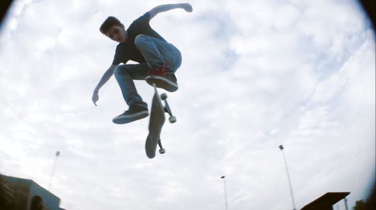 Backside Kickflip Down Gap || TRICK PROCESS