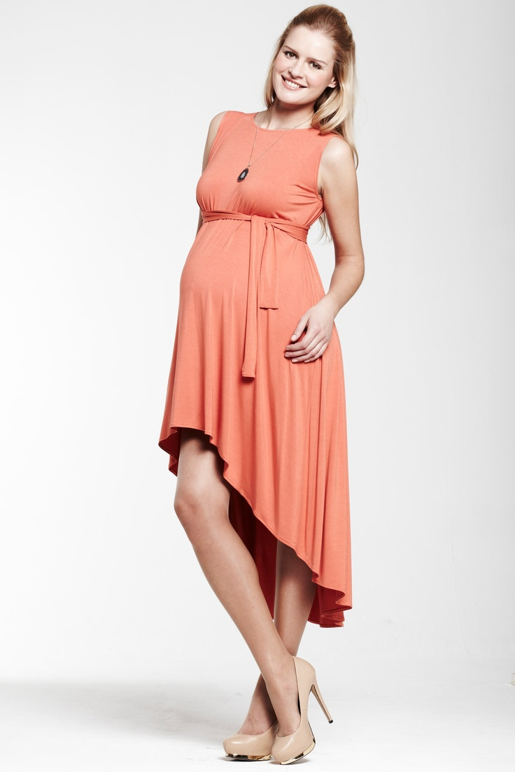 20 best maternity style images on pinterest pregnancy style peach maternity dress ombrellifo Images