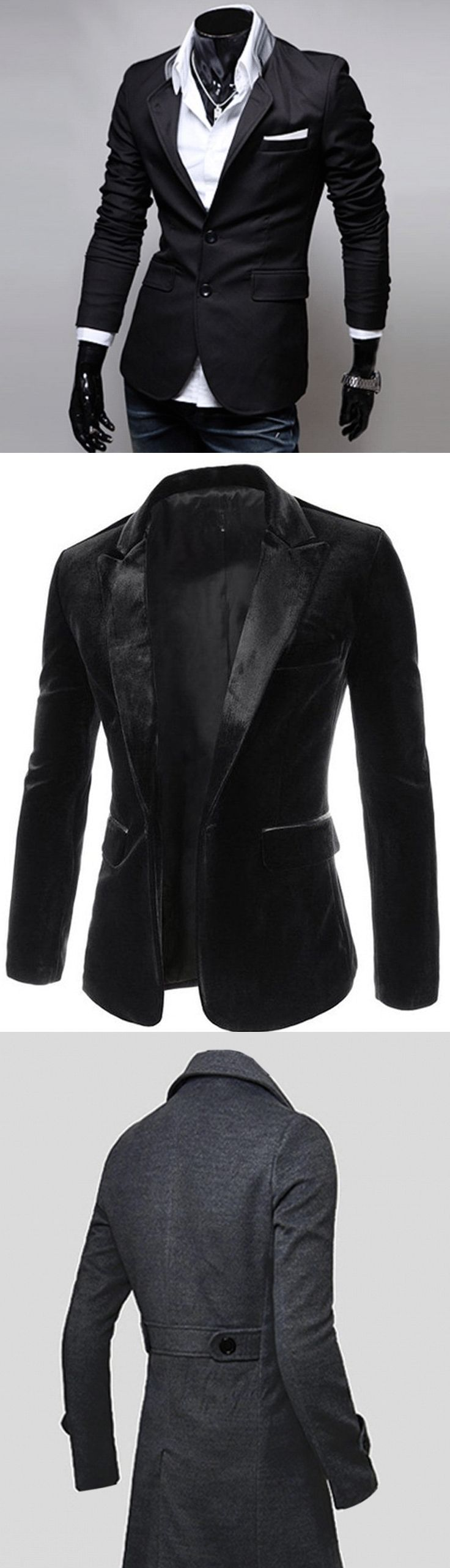 Shop street goth blazers and coats for men at RebelsMarket!