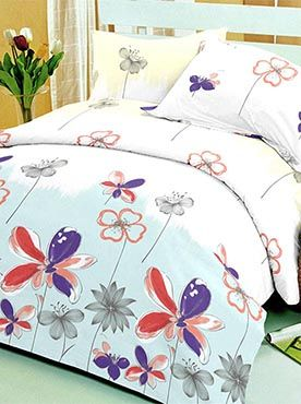 This bedsheet set has a pretty floral pattern in green that is young and artistic. The flower prints are a mix of styles resembling fine sketches and painted strokes. The 100% cotton fabric offers optimum comfort and luxury. Its premium quality ensures that the colours will remain vibrant after multiple washes. You will feel cared for and comforted every time you slip under the sheets. The look, feel, and quality makes this set a complete package. Info