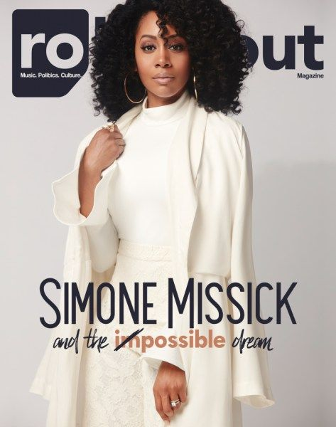 Simone Missick Covers RollingOut Magazine