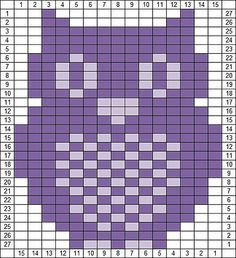 Ravelry: Owl Knitting Chart pattern by Agnes Barton