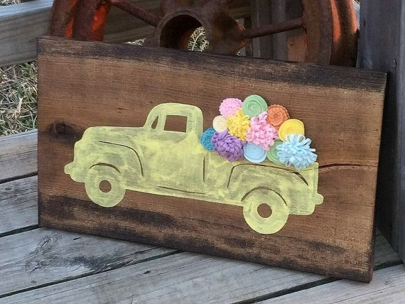 Spring decor signs are cheap and easy to make. Check out these fun ideas to spruce up your home decor just in time for spring.