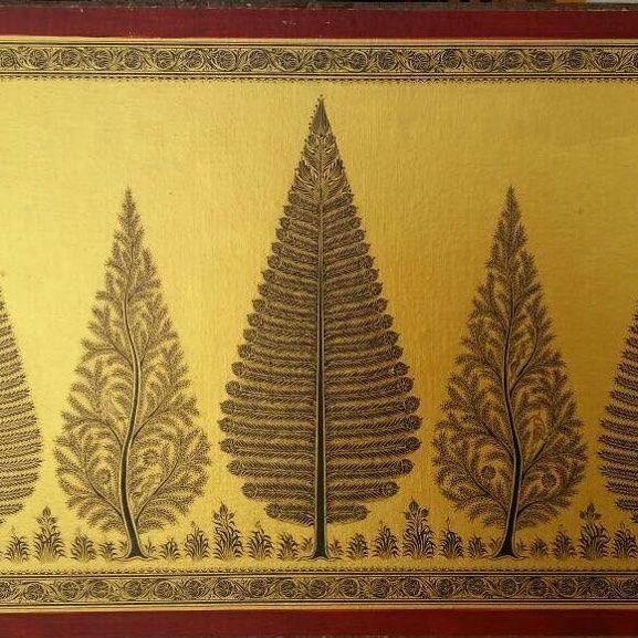 MUST ART GALLERY AN ART UNIVERSE  #art#tussar#patua#silk#odisha#tribal#must#buy#instalike#indigenous#follow#prakash#kumar#meher#artist#gold#artwork#acrylic#reasonable#largest#collection#gallery#must#art#love#india#global#shipping#on#website#  www.gallerymustart.com www.singinawajunglelodge.com
