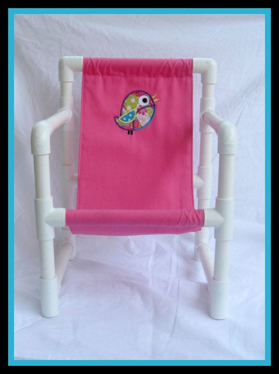 Kids PVC chair! Awesome!! Might be   Christmas present for the kids this year.