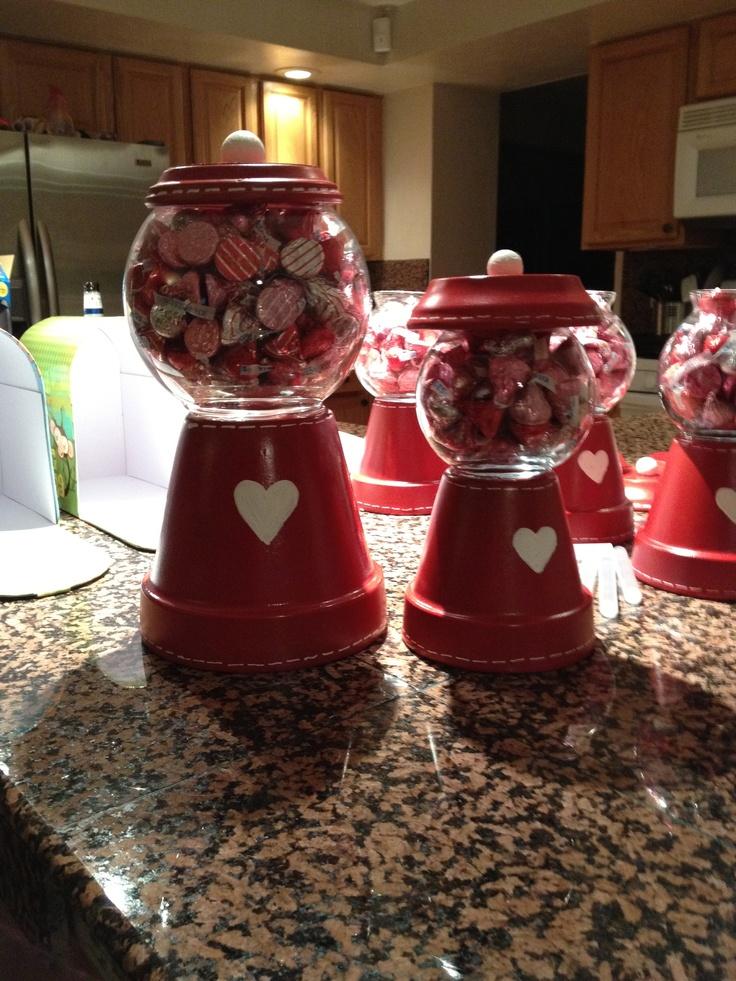 Made Gum Terracotta Machine Pots Bubble
