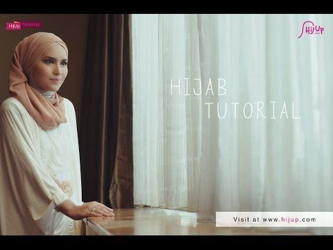 Hijab Tutorial Special Eid ul-Fitr with Zahratul Jannah - YouTube
