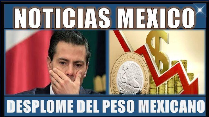 Nuevo Desplome del PESO MEXICANO  NOTICIAS DE MÉXICO 03 ENERO 2018