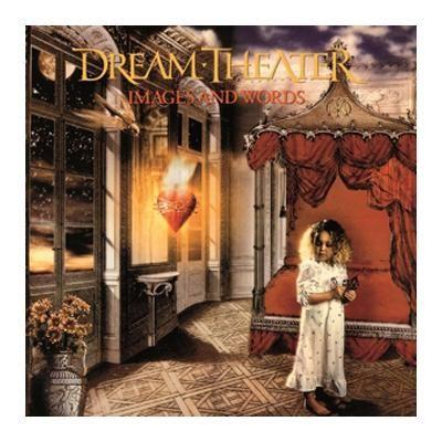 """L'album dei #DreamTheater intitolato """"Images and words"""" su vinile."""