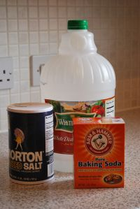 Homemade DIY Cheap Drain Cleaner- Drano Alternative. Budget Loving Military Wife.