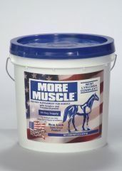 Equipet More Muscle 8 Pound - 444515A by Equine America. $66.78. BELGIUM. 8 PoundHorse Feed Supplements at The Pet Supply CompanyActive Ingredients: Creatine Monohydrate, Gamma Oryzanol, Yeast Culture, Dehydrated Alfalfa Meal, Brewers Dried Yeast, Dried Whey, Wheat Germ Oil, Cod Liver Oil, Vegetable Fa. Save 31% Off!