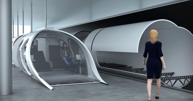 """Hyperloop travelling coming within a decade? """"Tesla Motors CEO and SpaceX founder Elon Musk's idea for the Hyperloop is one that sounded a bit like fantasy to some. """""""