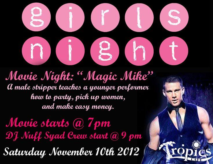 Magic Mike Movie Night