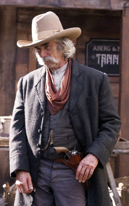 Ever a cowboy hat look better?  Still of Sam Elliott in The Golden Compass Love this man!