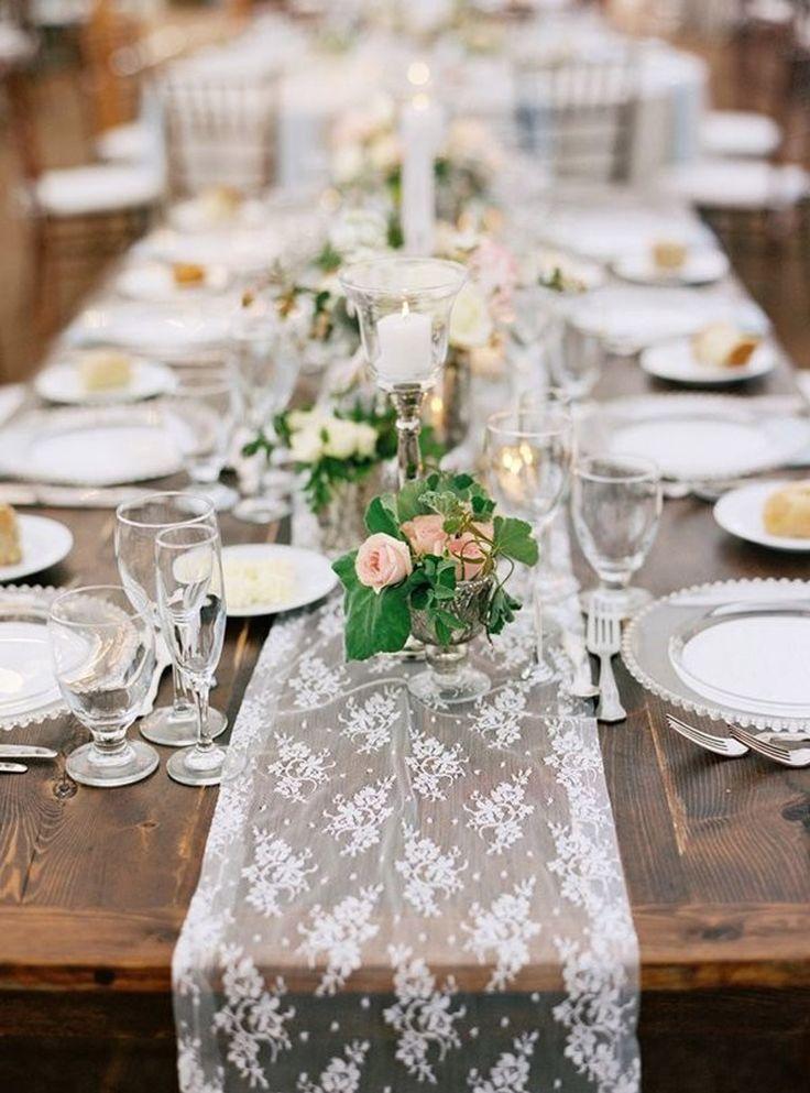17 mejores ideas sobre caminos de mesa de boda en - Caminos para mesas ...