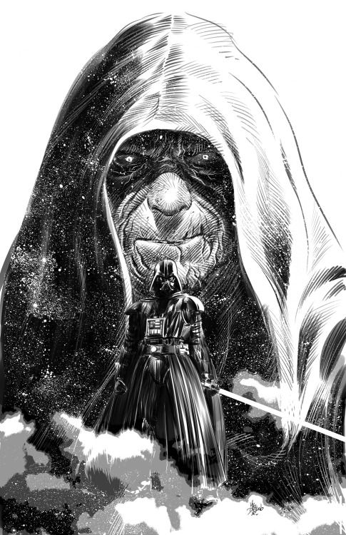 Darth Vader & Emperor Palpatine - Star Wars - Mike Deodato, Jr.