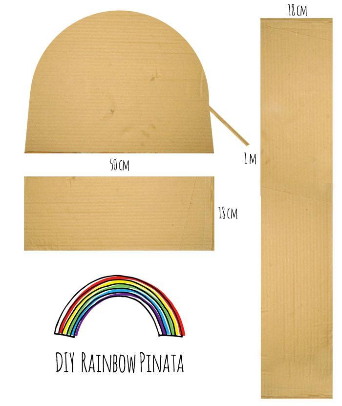 DIY Rainbow Pinata
