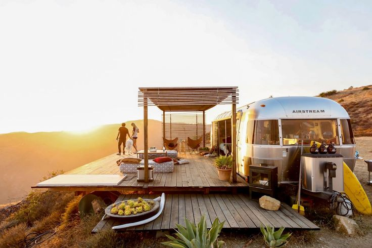 USA:Malibu Dream Airstream - Camping-cars/caravanes à louer à Malibu, Californie, États-Unis