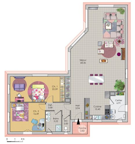 11 best French house plans images on Pinterest French lessons - faire les plans d une maison