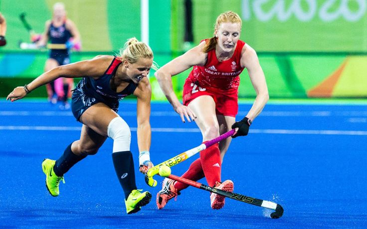 The U.S. Olympic Women's Field Hockey Team faced off against Great Britain in the fifth and final match of preliminary play.