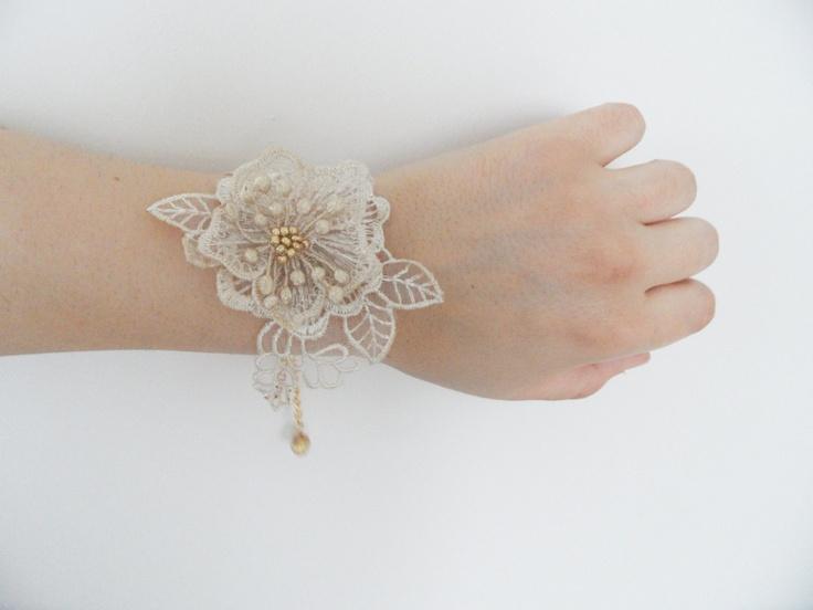 Lace bracelet on Etsy