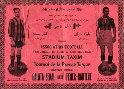 Galatasaray - Fenerbahçe Nostaljik Bilet