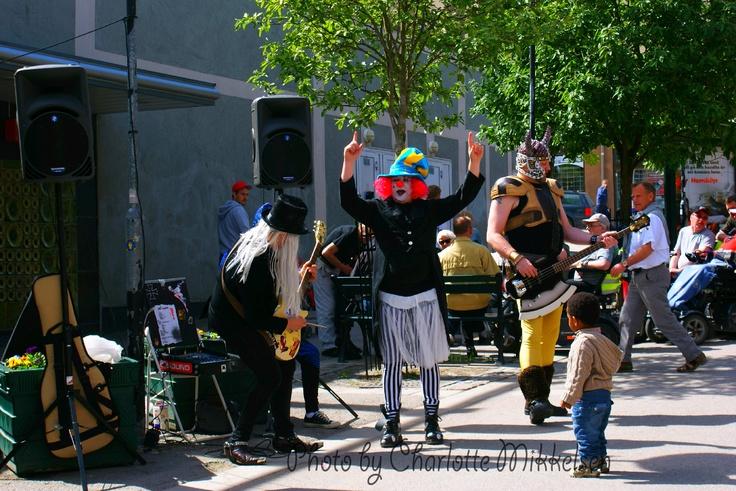 Street entertainment #Hudiksvall #Sweden