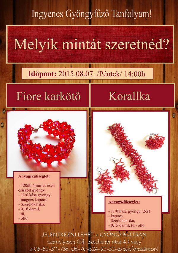 Oktatás - Gyöngy - alkatrész - webshop - Az Én Gyöngyöm -gyongyom.hu - webáruház, webshop