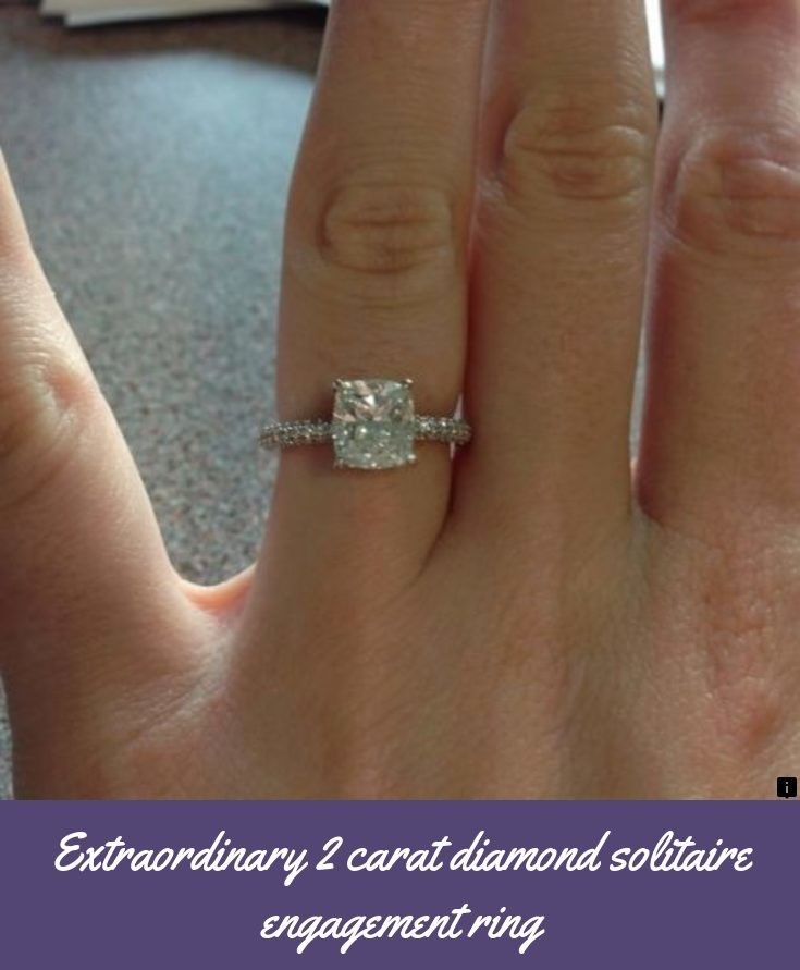 Find Out About 2 Carat Diamond Solitaire Engagement Ring Click The Link To Get More Information Diamond Solitaire Diamond Solitaire Engagement Ring Diamond