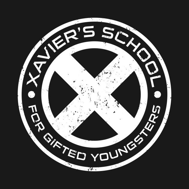 Awesome 'Xavier%27s+School' design on TeePublic!x-men, wolverine, xmen, logan, mutant, uncanny-xmen, magneto, xavier, superhuman, marvel, marvel-comics, comic-book, superheroes, charles-chavier, avengers, comic, school, xavier's-school