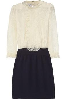 Moschino Lace dress