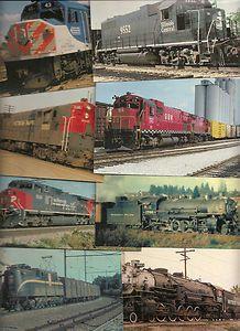 Railway Railroad Trains