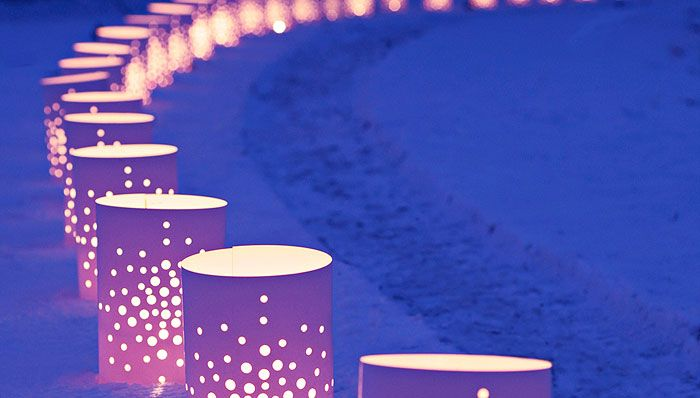 134 best images about advent decor on pinterest for Reusable luminaries