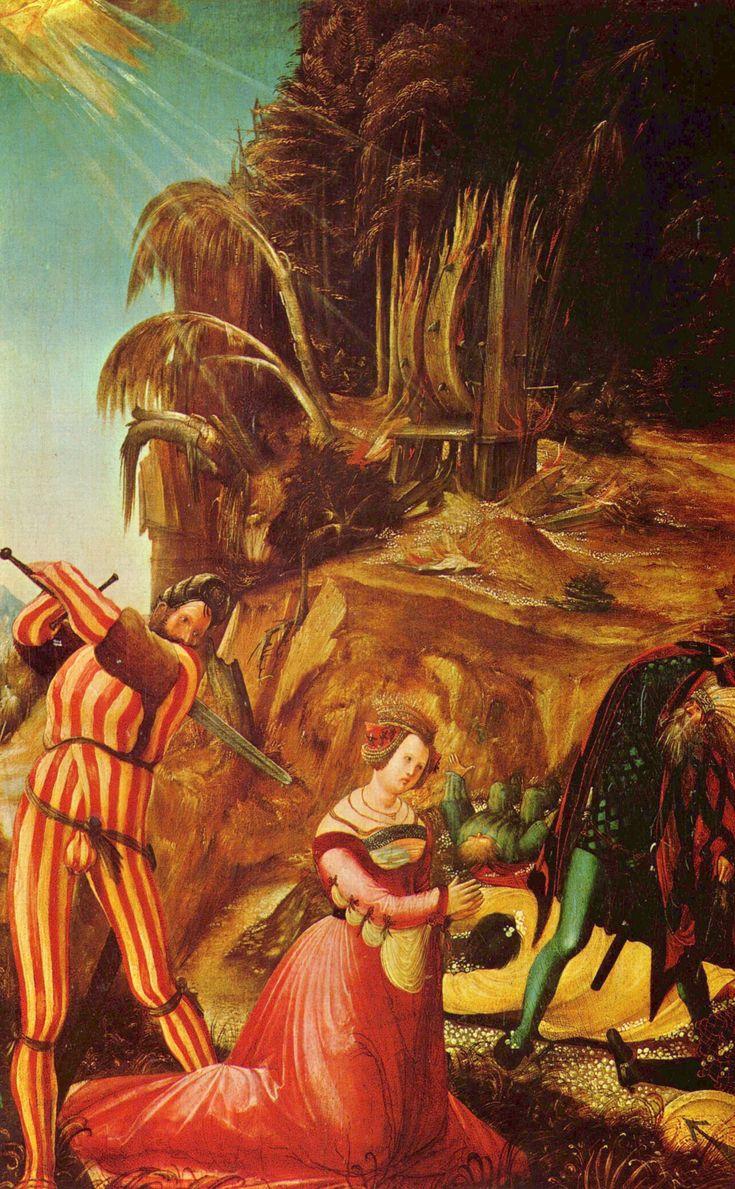 Beheading of St. Catherine - Albrecht Altdorfer