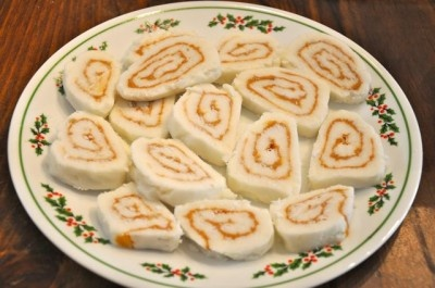 Irish Potato Candy - I make this around Christmas time. We always called it Irish Potato Candy but it's the same exact recipe. Don't make it often because you can't eat just one!