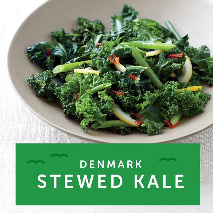 Crazy for Kale? The Danish celebrate New Year's with stewed kale because the leaves look like folded money. Try our Mushroom & Asparagus Orzo Bowl for a kick of kale this New Year's.