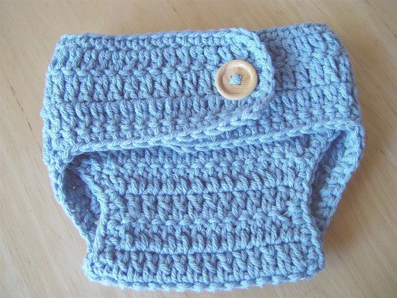 ***This listing is for a PDF Crochet pattern, so that you can make this item yourself, not the finished item. Please contact me if youd like one made for you.*** Now offering instant downloads - thank you Etsy! What does this mean? After your payment goes through, you can now download your patterns directly through Etsy. No more waiting for your pattern to be emailed! Please contact me if you have any issues or concerns. **Hat pattern not included** Try this super cute and simple diaper...