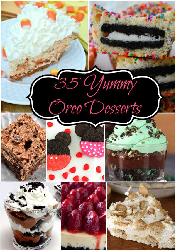 35 Yummy Oreo Desserts - A Spectacled Owl