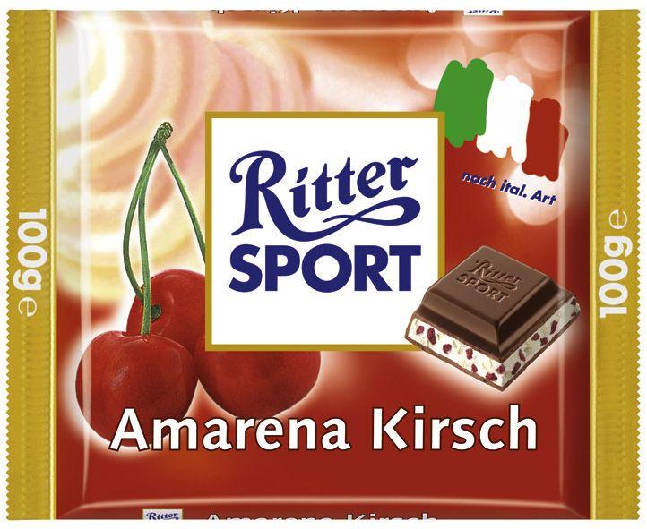 Unsere RITTER SPORT Amarena Kirsch hat euch im Rahmen der Länderpromo im Jahr 2004 einen Hauch von Italien schmecken lassen.