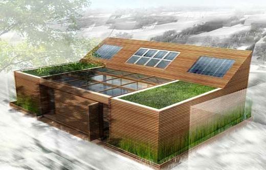 Passzívházak és a fenntartható építészet - passziv szolár ház