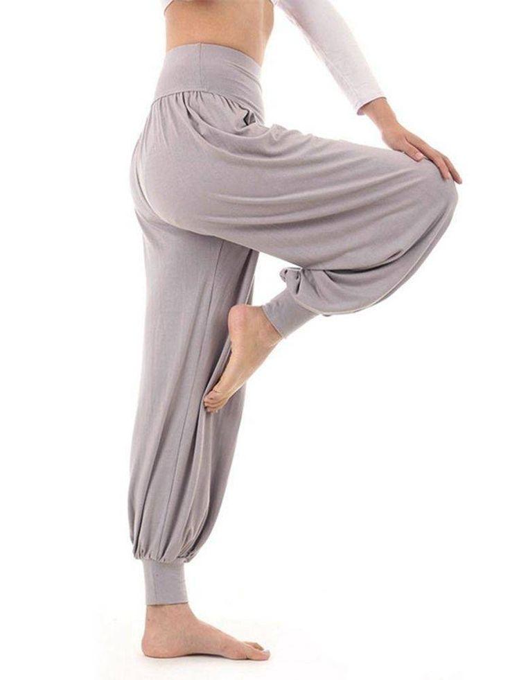 Hot Harem Yoga Pant Dance Plus Size Loose Trousers at Banggood