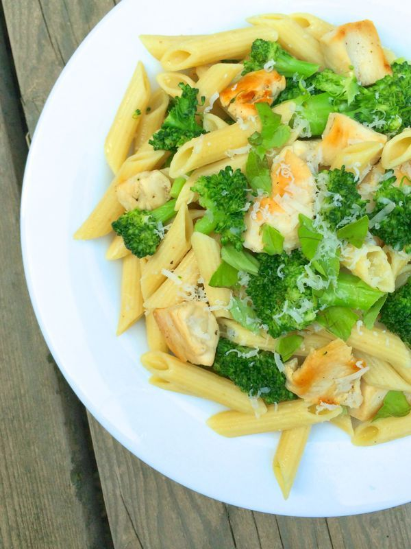 Chicken Broccoli Pasta with Lemon Butter Sauce by The Lemon Bowl