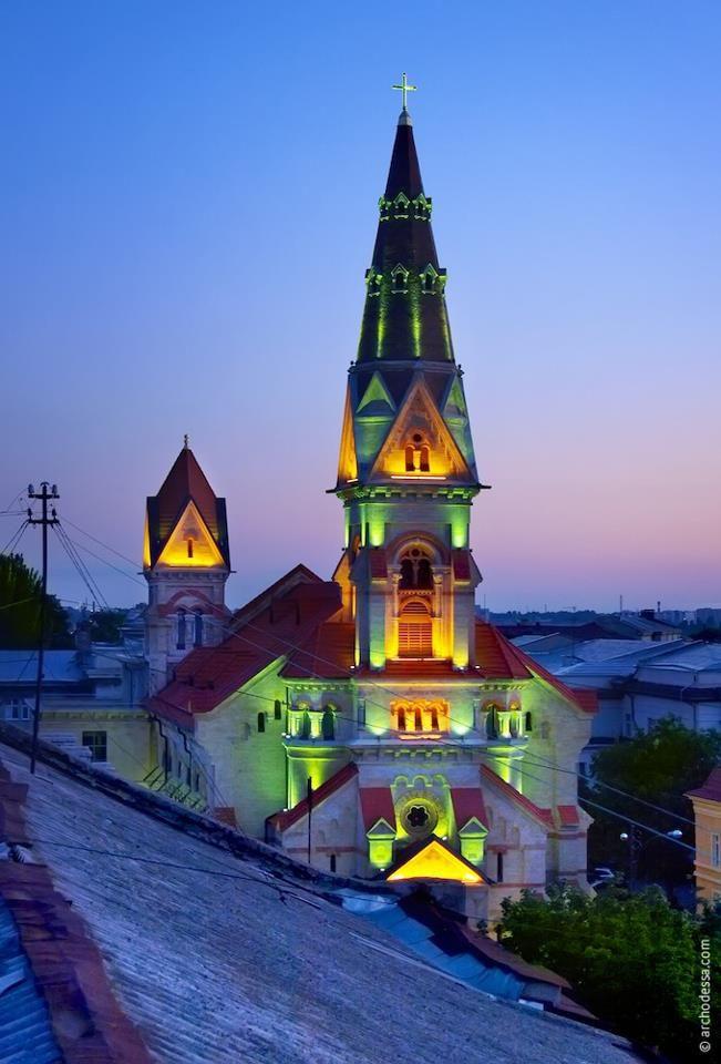 St. Paul's Lutheran Church in Odessa.